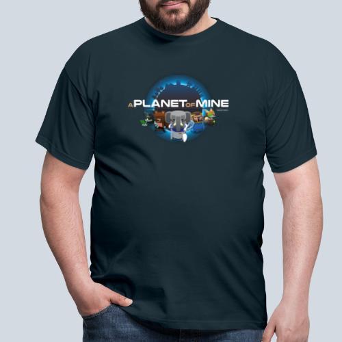 logo planetofmine tshirt png - T-shirt Homme