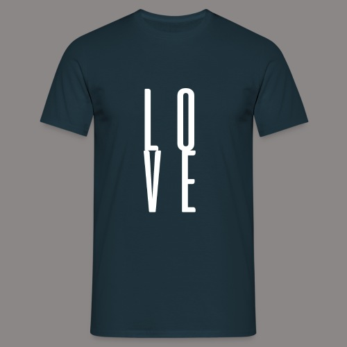 LOVEwhite - Männer T-Shirt