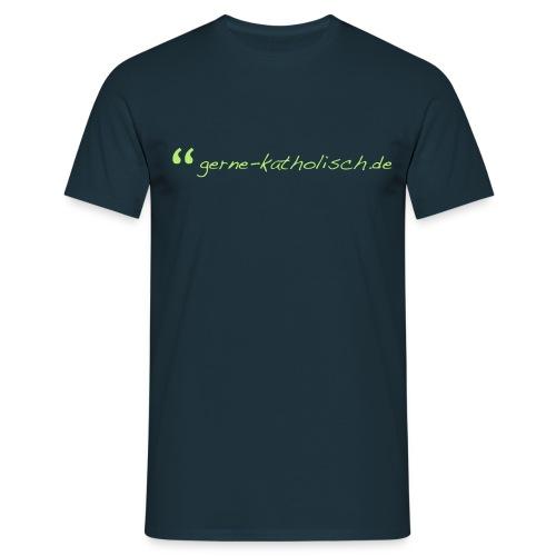 logo ultraklein - Männer T-Shirt