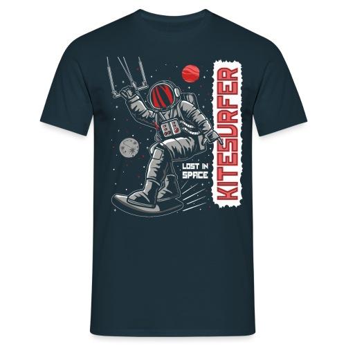 Kitesurfer - Lost in space - Männer T-Shirt