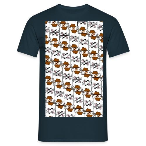 Cow Matrix - Men's T-Shirt