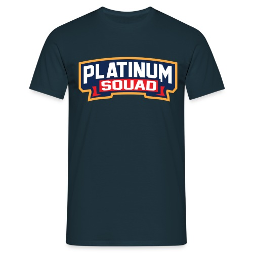 Platinum Trophies Squad Logo - Men's T-Shirt