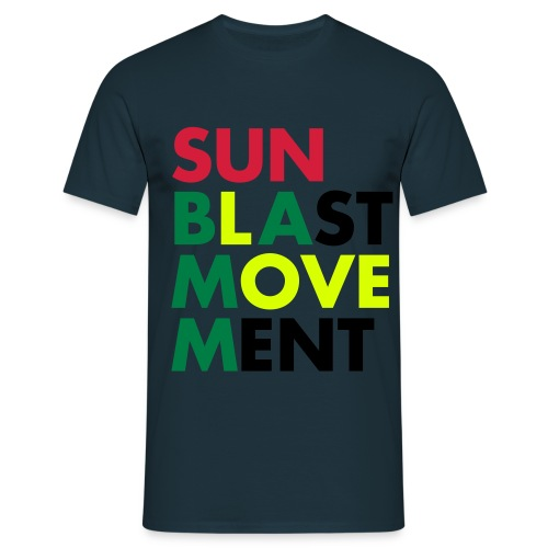 Sunblast Movement Love - Männer T-Shirt