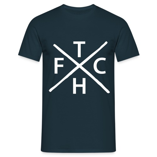THFC hardcore - Men's T-Shirt