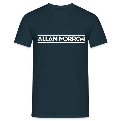ALLAN MORROW LOGO - VERTI - Men's T-Shirt
