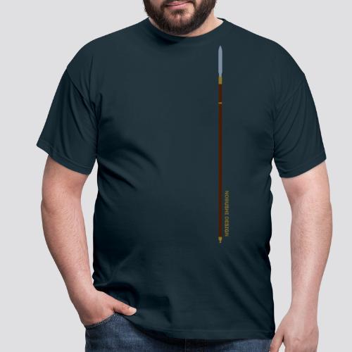 Metallic Yari - Mannen T-shirt