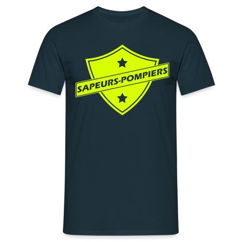 blason sapeurs-pompiers - T-shirt Homme