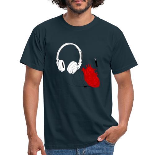Heart beat. - Koszulka męska