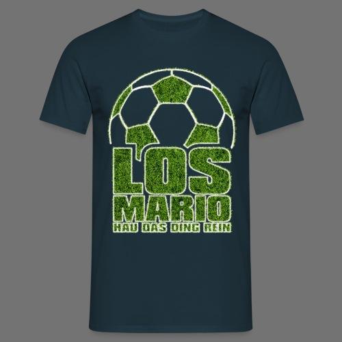 Jalkapallo - Go Mario, Hau asia puhdas (ruoho) - Miesten t-paita