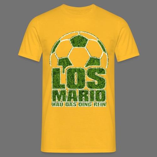 Football - Go Mario, hau the thing pure (grass) - Men's T-Shirt