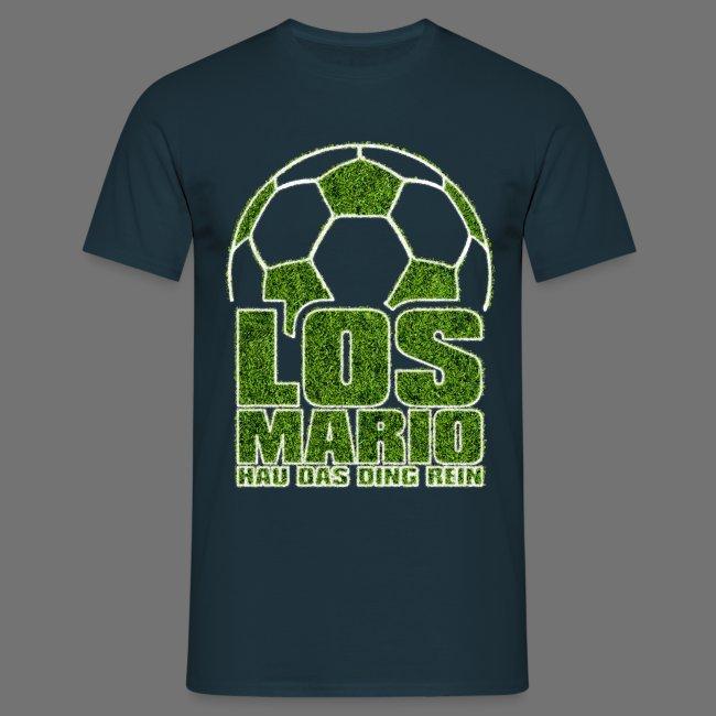 Fußball - Los Mario, hau das Ding rein (Gras)