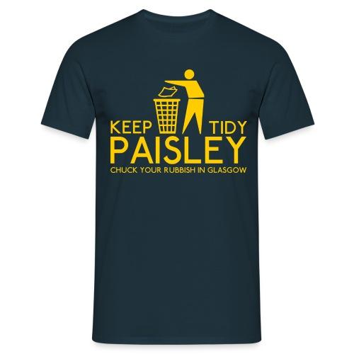 Keep Paisley Tidy - Men's T-Shirt