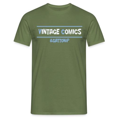 logo maglietta ilgatonip - Maglietta da uomo