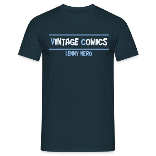 logo maglietta lennynero - Maglietta da uomo