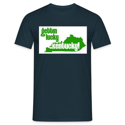 gettin lucky - Men's T-Shirt