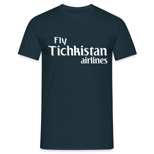 Fly Tichkistan Airlines - T-shirt Homme