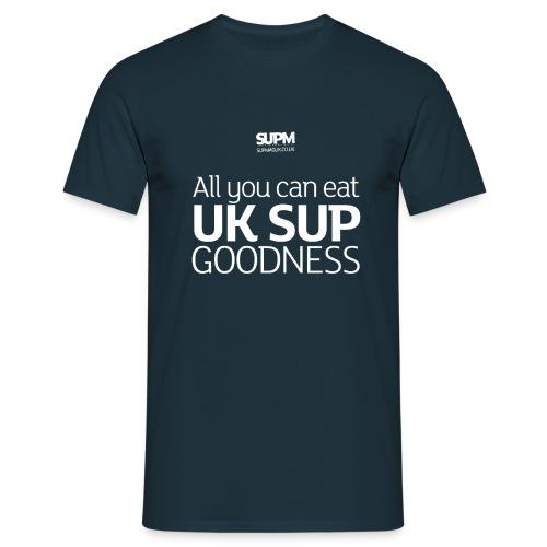 SUPM-t-shirt-back-strapli - Men's T-Shirt
