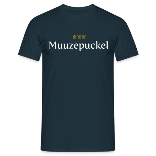 Muuzepuckel (Köln/Kölsch/Karneval) - Männer T-Shirt
