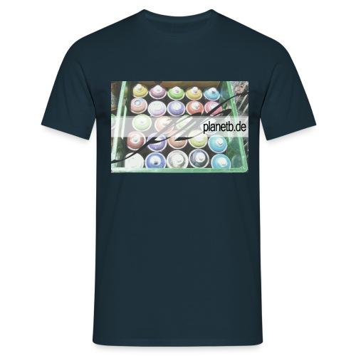 planetb cans - Männer T-Shirt