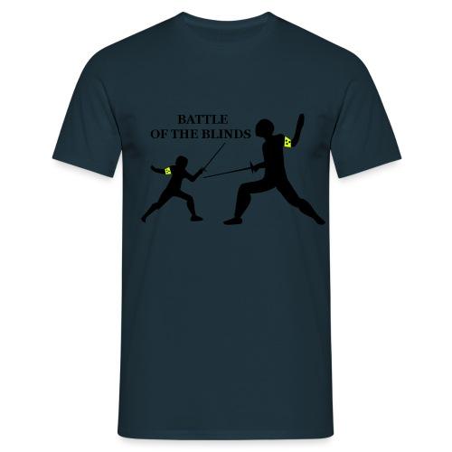 battle_of_the_blinds - Männer T-Shirt