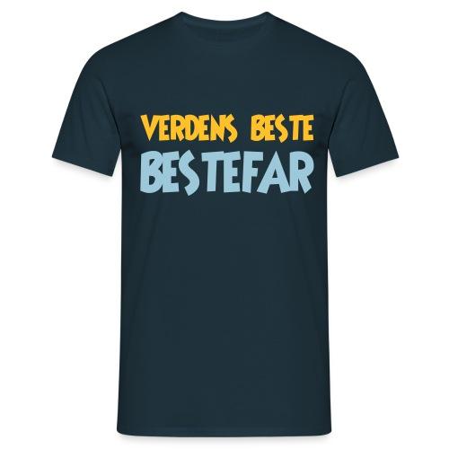 Verdens beste bestefar - Men's T-Shirt