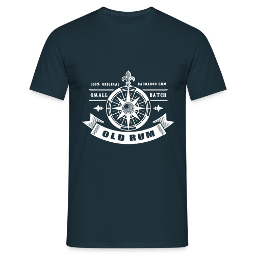 Old Rum white - Men's T-Shirt