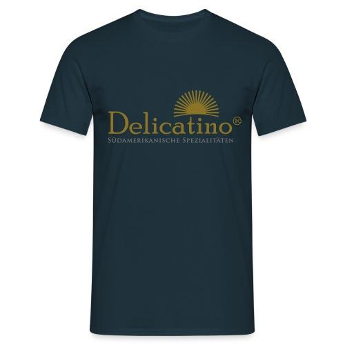 Delicatino Logo - Männer T-Shirt