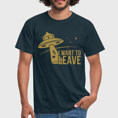 I want To Leave - OVNI - T-shirt Homme