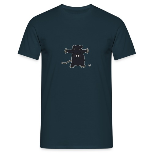 Henkie the Plush Rat - Mannen T-shirt