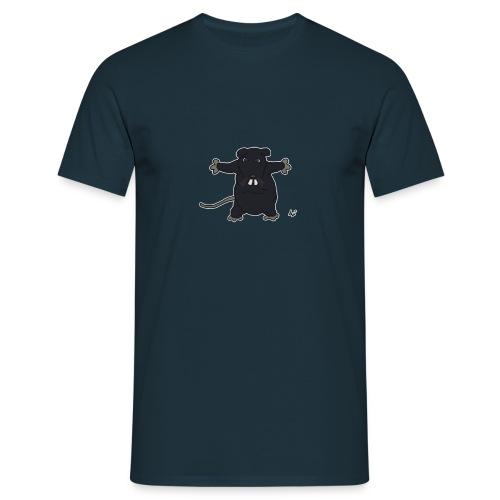 Henkie the Plush Rat - T-skjorte for menn