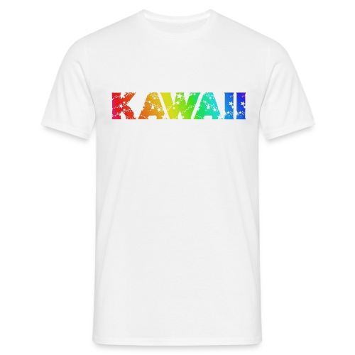 Kawaii rainbow - Men's T-Shirt