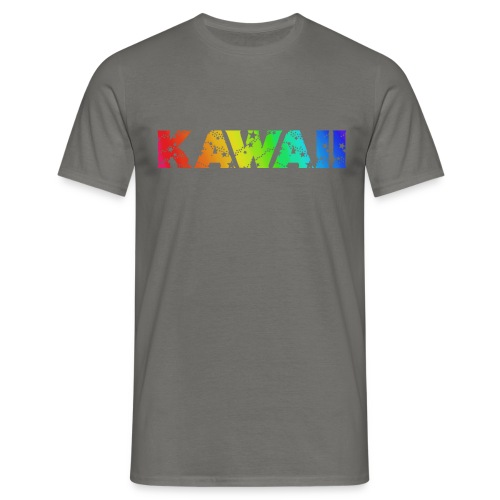 Kawaii rainbow - Men's T-Shirt