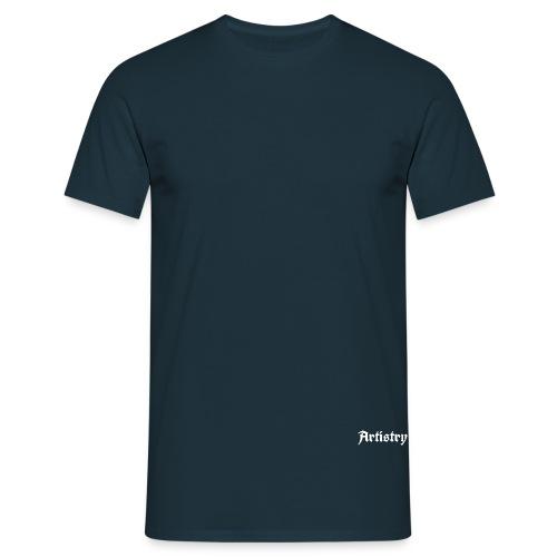 Artistry Branded White - Männer T-Shirt