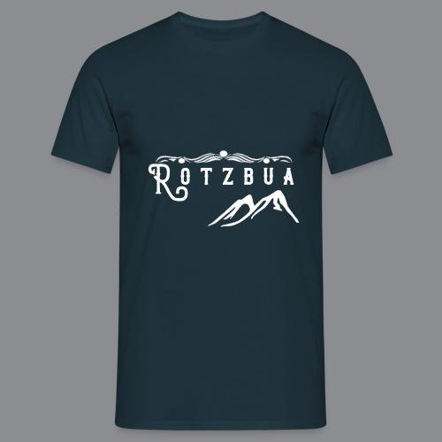 Rotzbua Weiß - Männer T-Shirt