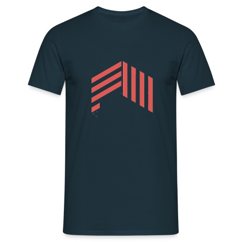 fourthwallredtransprent - Men's T-Shirt