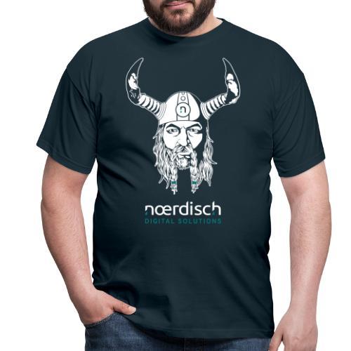 wikinger realistic v1 neg rz2 - Männer T-Shirt