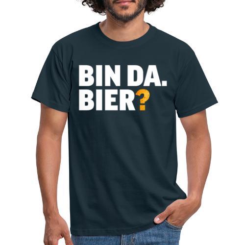 Lustig Bier Party Saufen Alkohol Geschenk - Männer T-Shirt