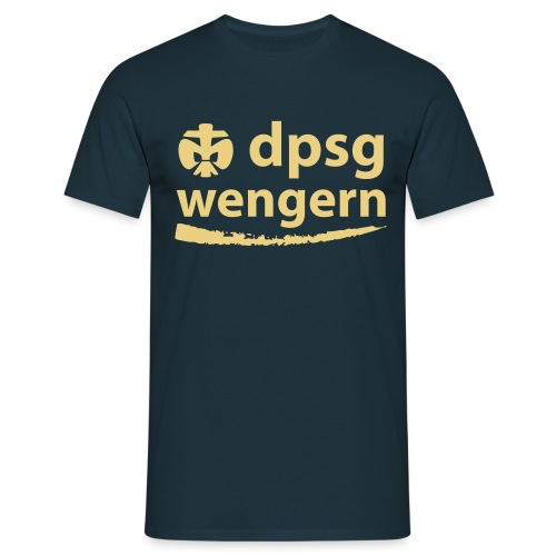 DPSG Wengern Front - Männer T-Shirt