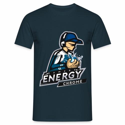 Gamers Energy Chrome - T-shirt Homme