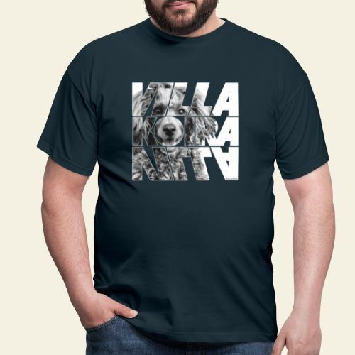 Villakoira Nassu II - Miesten t-paita