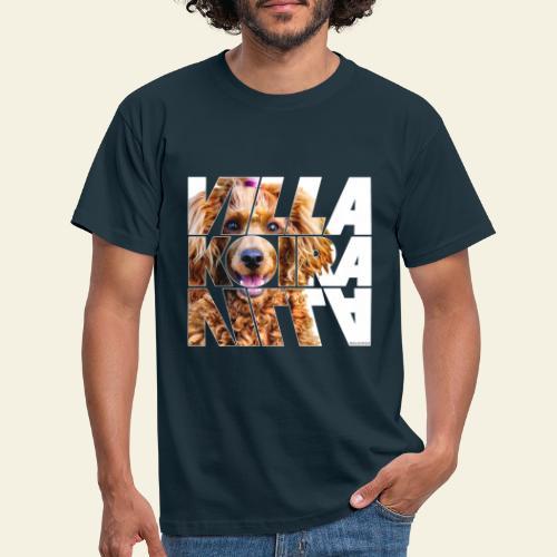 Villakoira Nassu I - Miesten t-paita