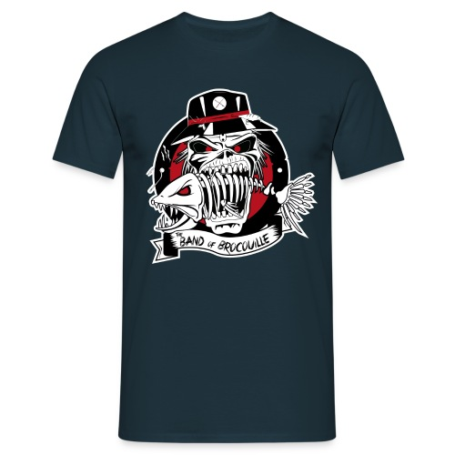 logo bandofbrocouille-01 - T-shirt Homme