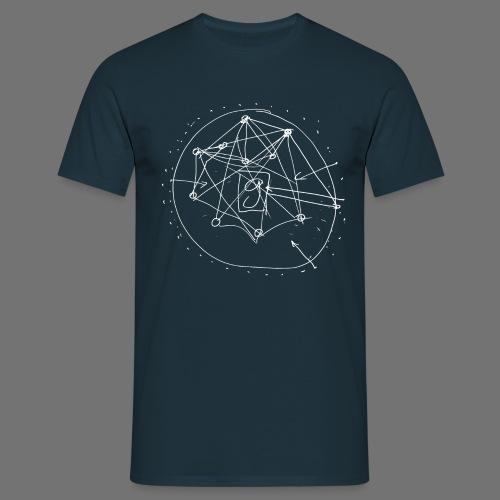 SEO strategia No.1 (valkoinen) - Miesten t-paita