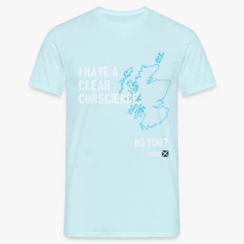 Clear Conscience - Men's T-Shirt