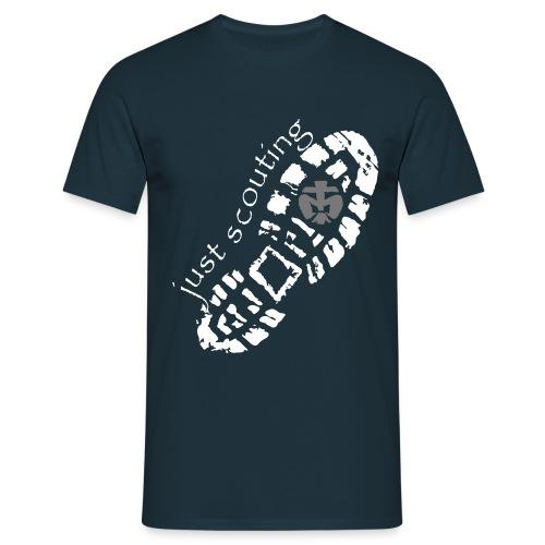 Just scouting - Männer T-Shirt