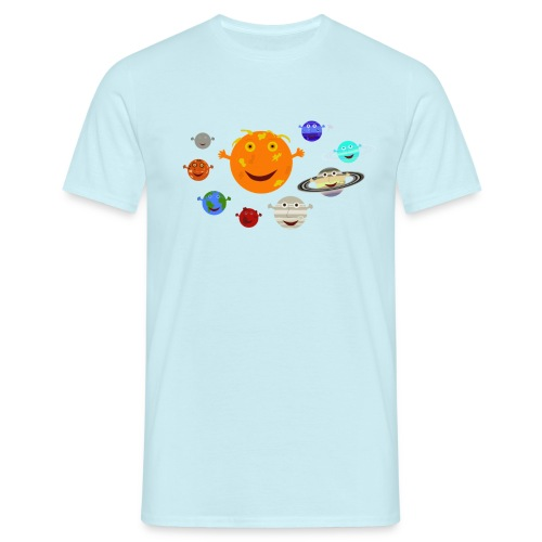 the solar system 1 png - Men's T-Shirt