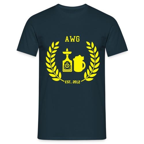AWG Logo - Männer T-Shirt