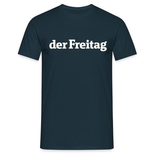 logo freitag ohne uz - Männer T-Shirt