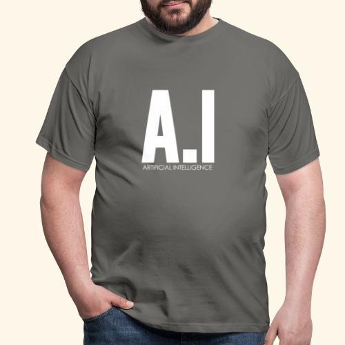 AI Artificial Intelligence Machine Learning - Maglietta da uomo