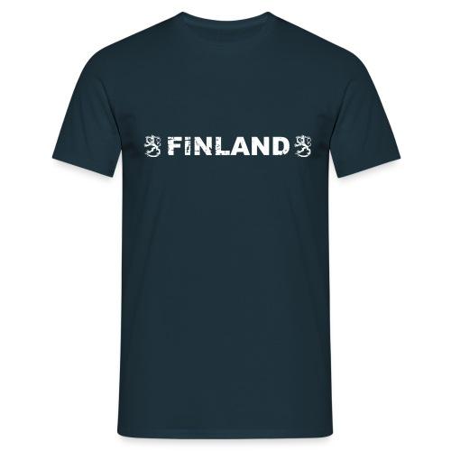 finland leijonat valkea - Miesten t-paita